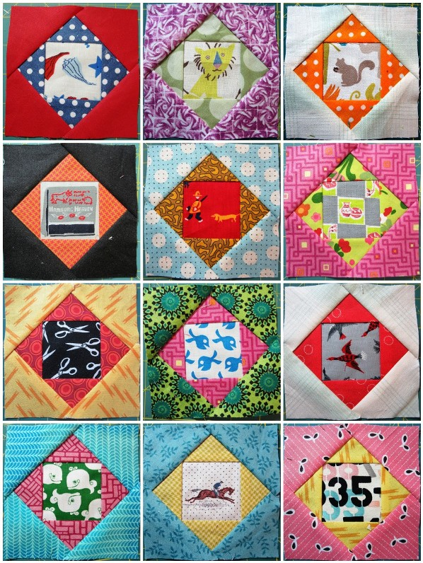 Fussy Square Block Swap Blocks