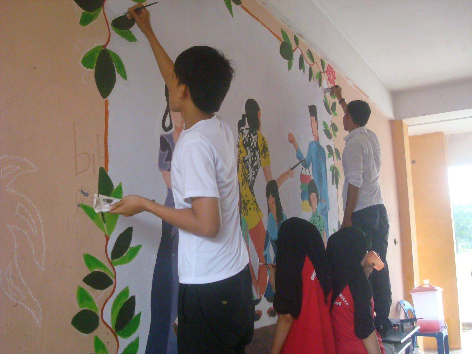 Blog smk sg choh semesco program sekolahku sayang for Mural sekolah rendah