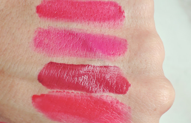 bourjois rouge velvet edition lip swatches