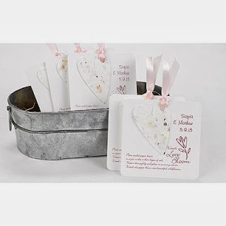Spring Wedding Party Favors