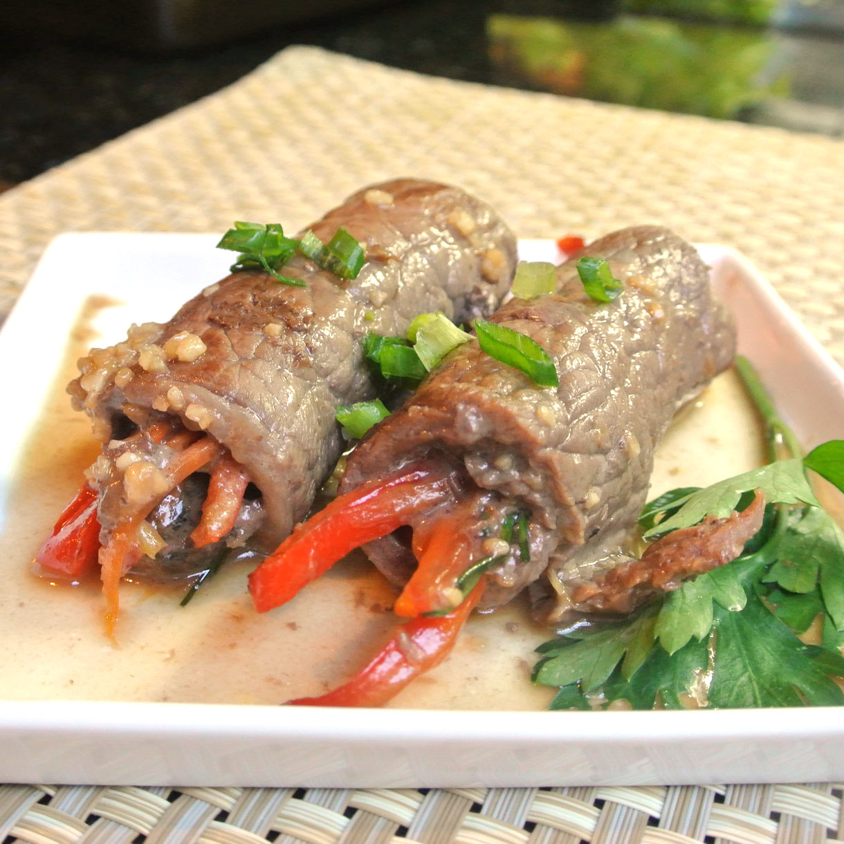 Pan Seared Steak Rolls Recipes — Dishmaps
