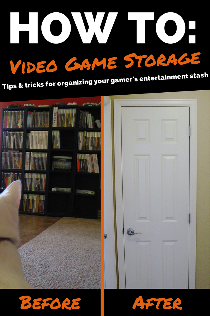Tips and tricks for organizing your movie and video game collection