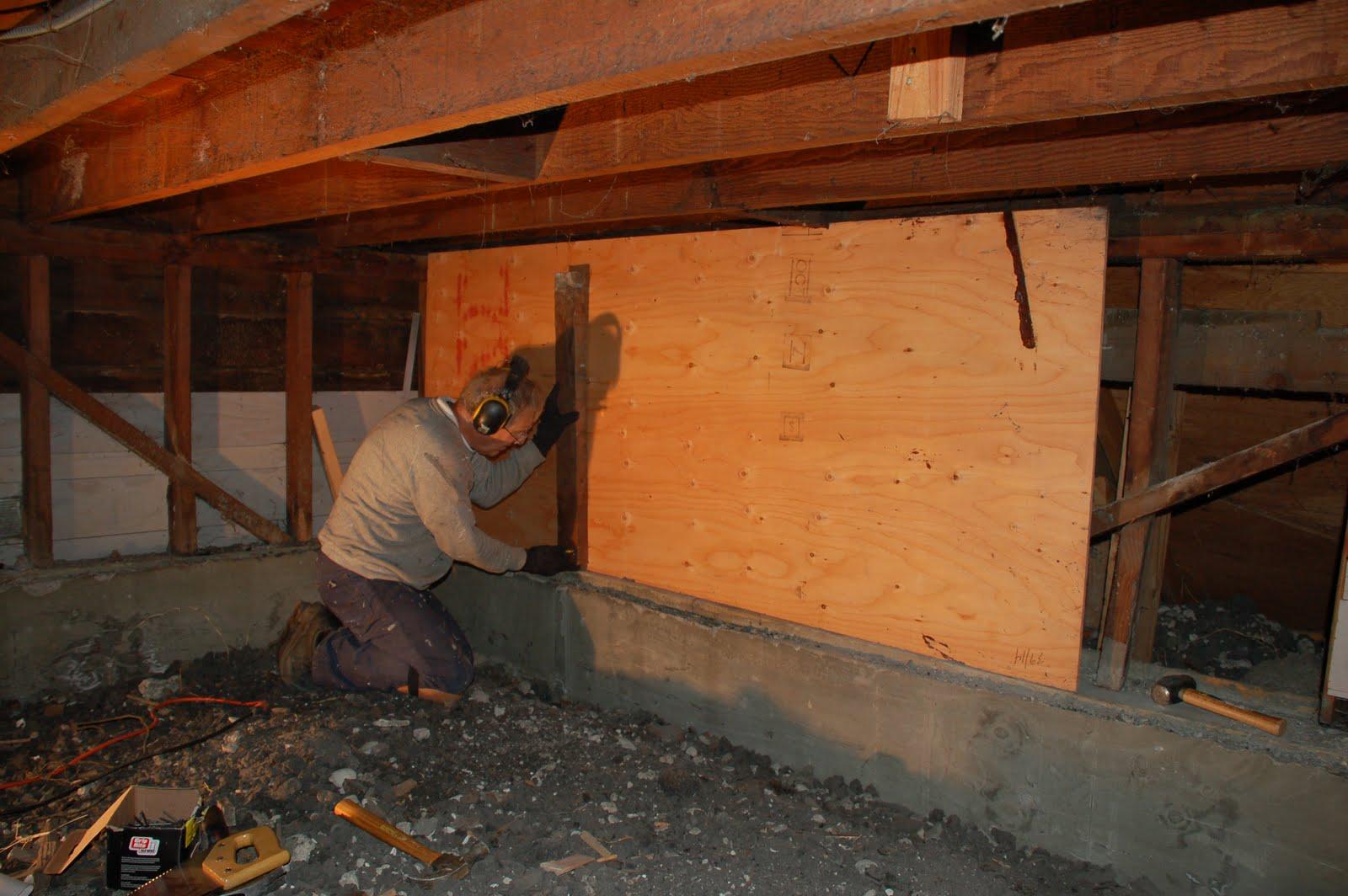 alec natasha 39 s wedding basement retrofit