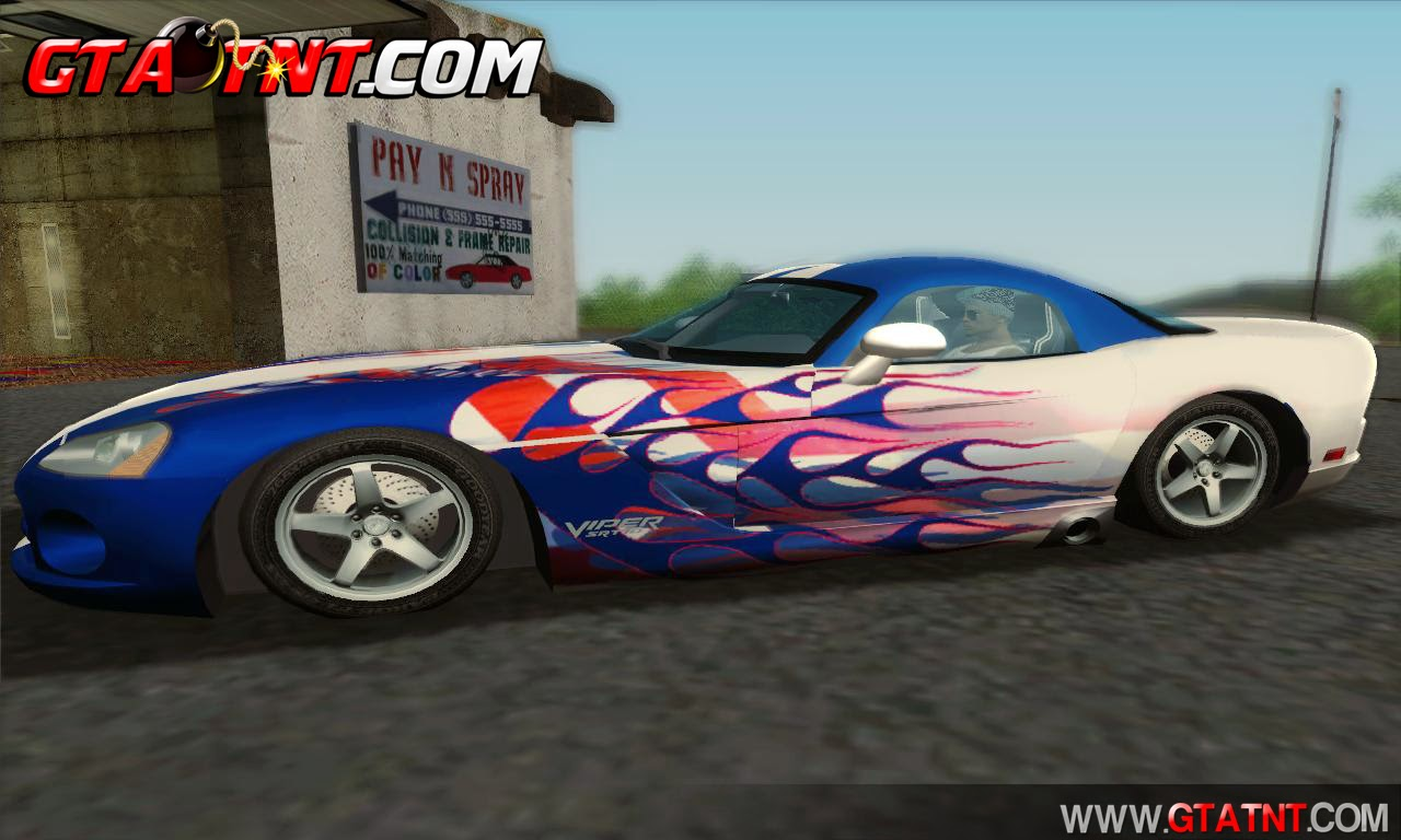 GTA SA - Dodge Viper SRT-10 Coupe