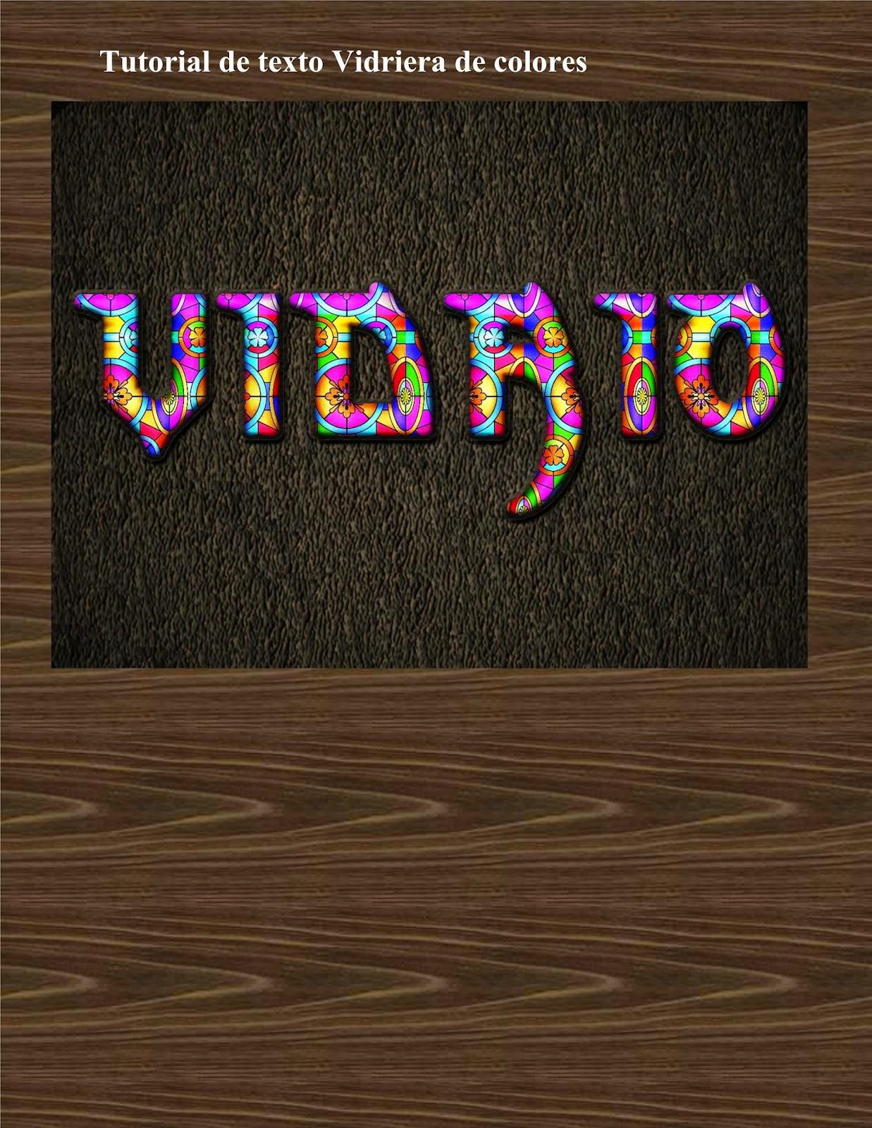 Gimp nexux tutoriales tutorial texto de vidrieras de colores - Vidrieras de colores ...