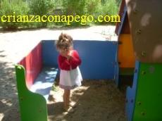 Parque infantil en www.crianzaconapego.com