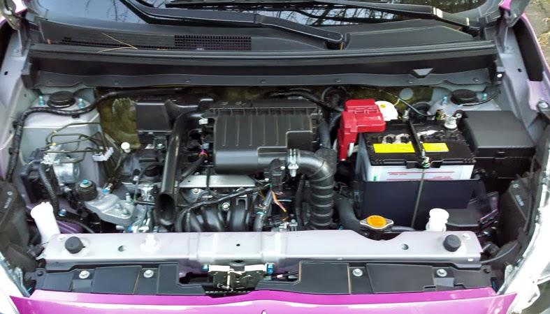 1.2 liter Mitsubishi Mirage engine
