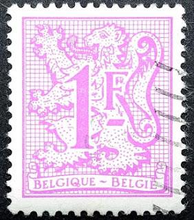 Otro sello que muestra el león rampante