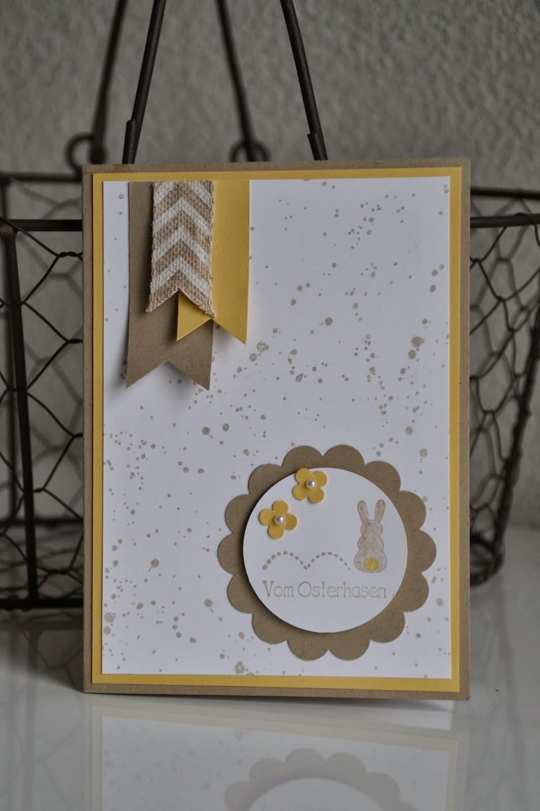 kreativ mit liebe osterkarte. Black Bedroom Furniture Sets. Home Design Ideas