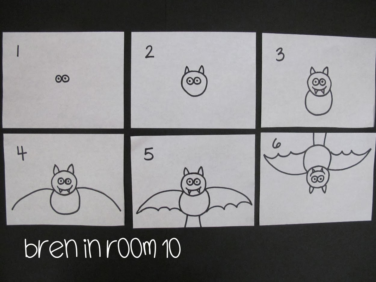 Line Drawing In Html : Bren in room 10 : bat directed drawing tutorial
