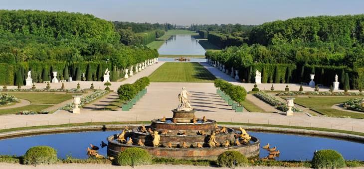 Jardines de Versalles, París