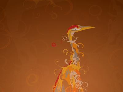 Ubuntu 8.04 default wallpaper