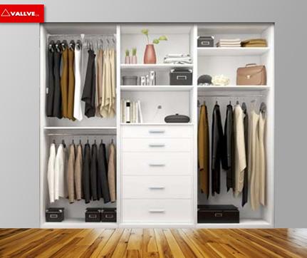 Maderas vallve c a closet for Closets de madera modernos economicos