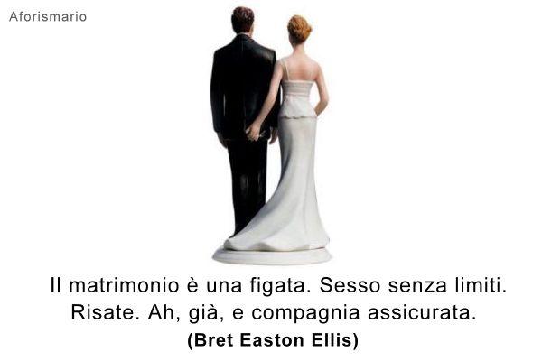 Molto Aforismario®: Sposarsi - Aforismi, frasi e battute divertenti RN43