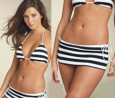Competition swimwear, beautiful bathing suits, and surf-ready swimwear come in the hottest trends and colors, vamping up the swimwear choices with graphic prints, cool cutouts, and a variety of coverage.