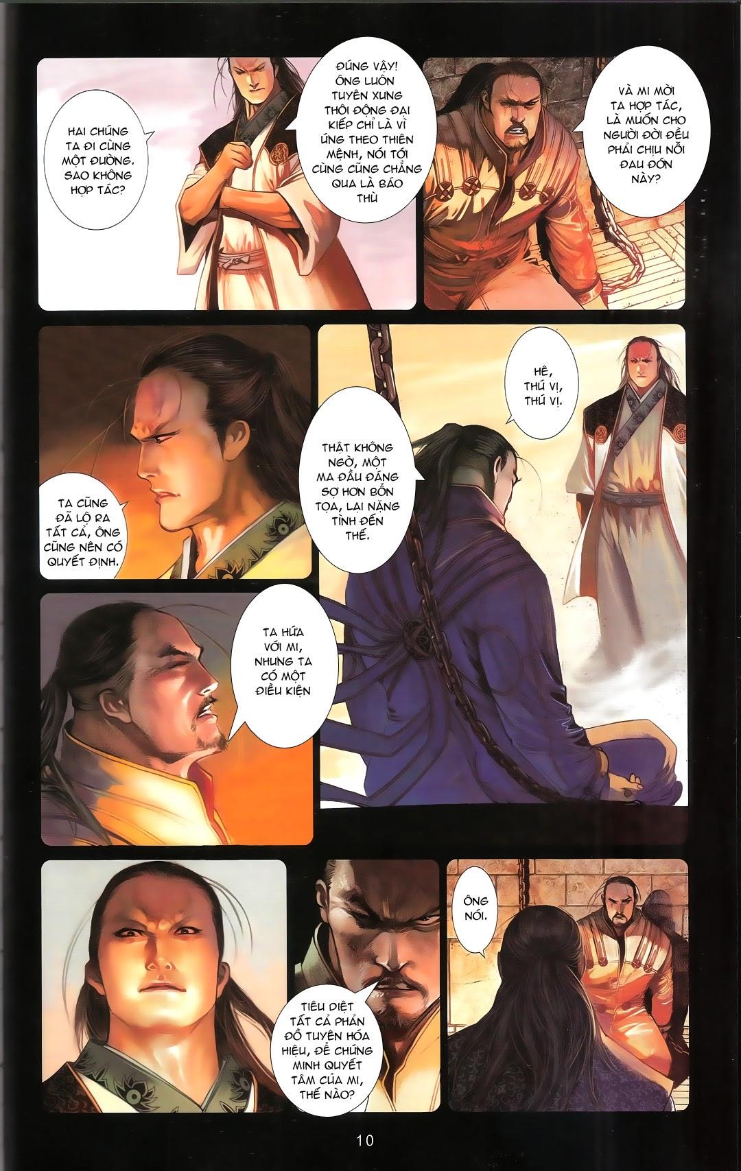 Phong Vân chap 668A Trang 8 - Mangak.info