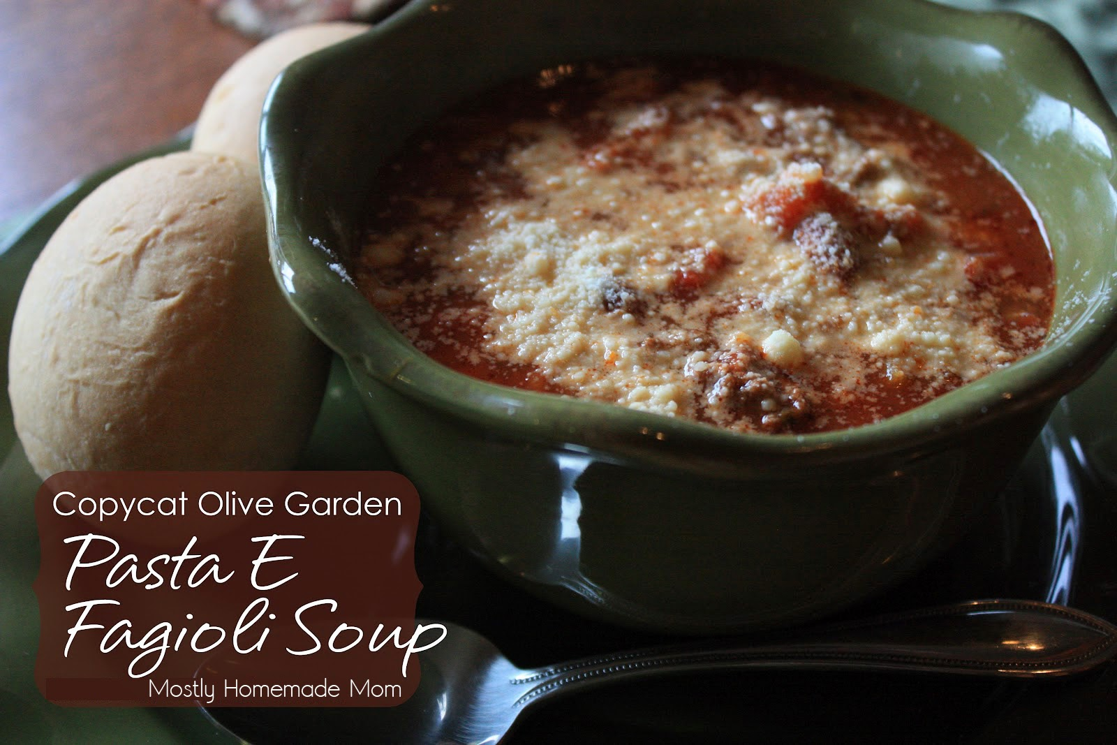 Mostly Homemade Mom: Pasta E Fagioli Soup
