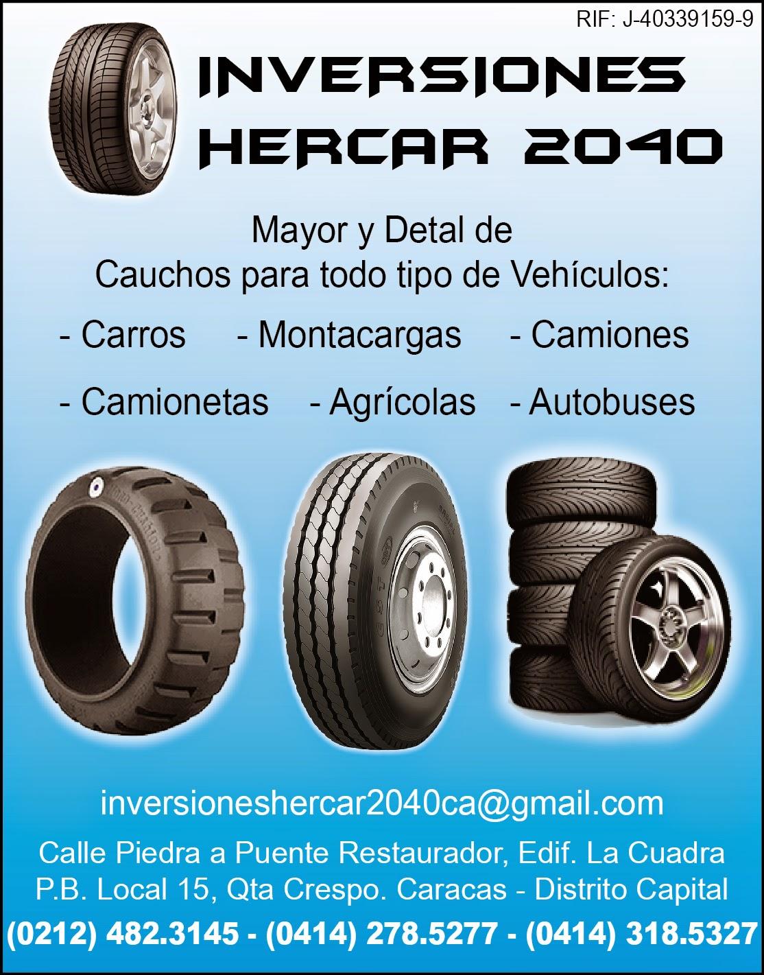 INVERSIONES HERCAR 2040 C.A. en Paginas Amarillas tu guia Comercial