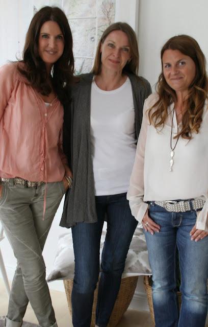 Gruppenfoto mit Biacas Wohnlust, Anjas Homelove und Moni von Lady Stil
