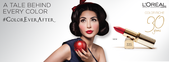Sabeeka IMam as SnowWhite for L'Oreal Paris 30 Years Celebration
