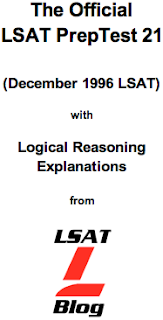 LSAT Blog PrepTest 21 June 1997 LSAT PDF