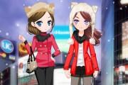 Türk Japon Kış Elbiseleri Giydirme Oyunu