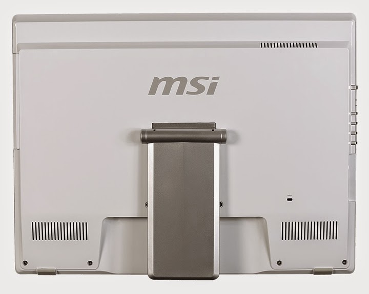 задняя сторона моноблока MSI Adora 20