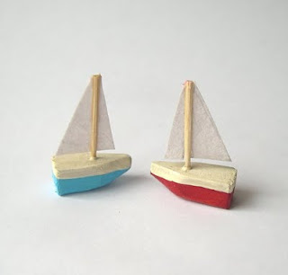 Ships in miniature for dollhouse