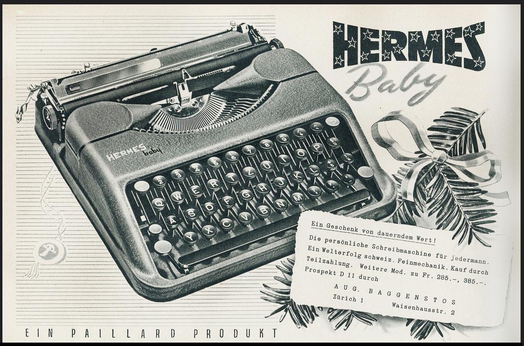 oz typewriter christmas typewriters 21. Black Bedroom Furniture Sets. Home Design Ideas