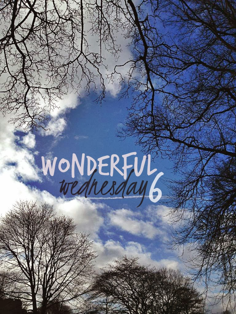 Wonderful Wednesday 6