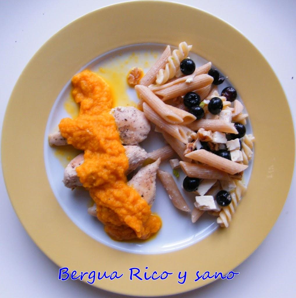 Comer rico y sano: Pollo con salsa de zanahoria y coñac - photo#16