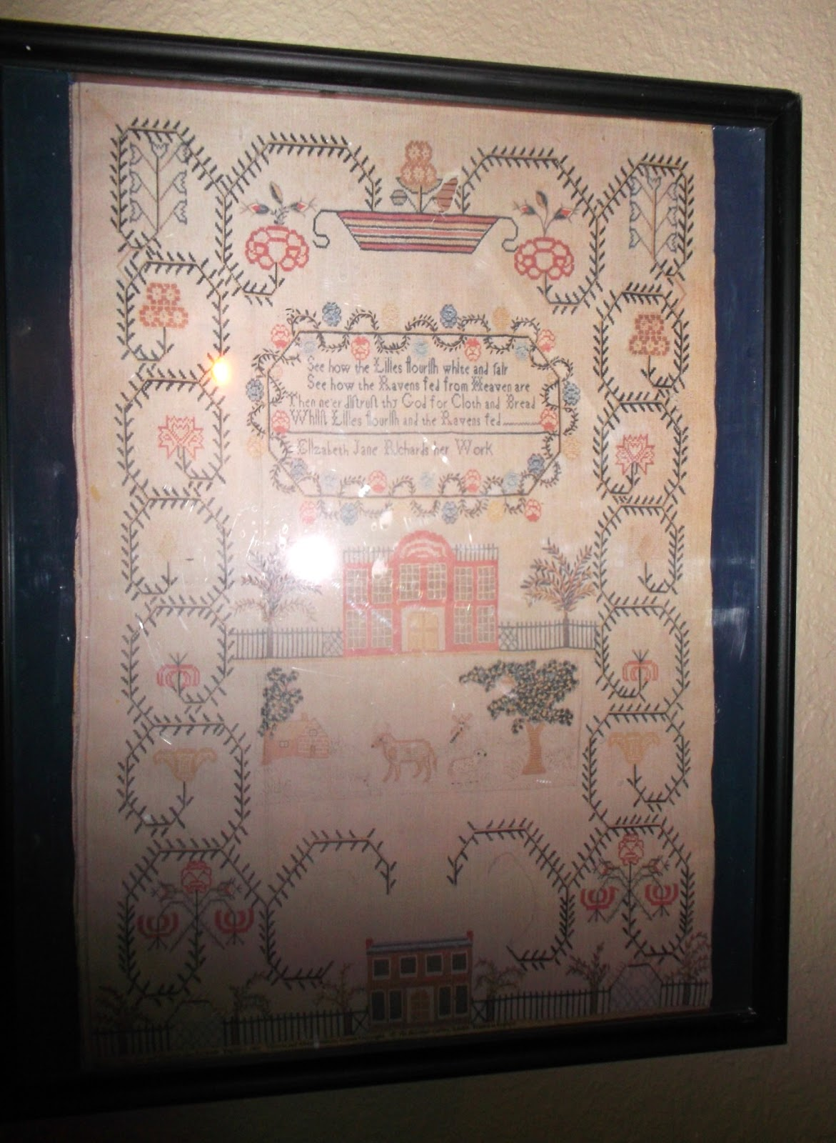 Home interiors and gifts framed art - Decorating Is In The Details Homemade Art