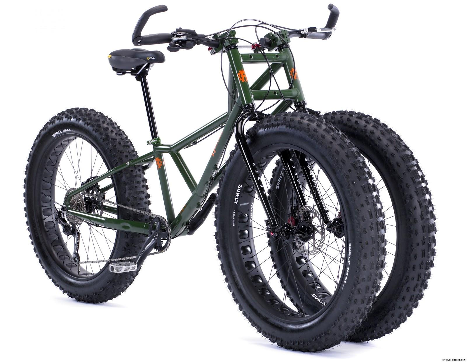 Fat Tire Three Wheel Bike