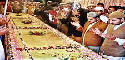 5,000 Pound Cake In Eid Milad Un Nabi video 2015