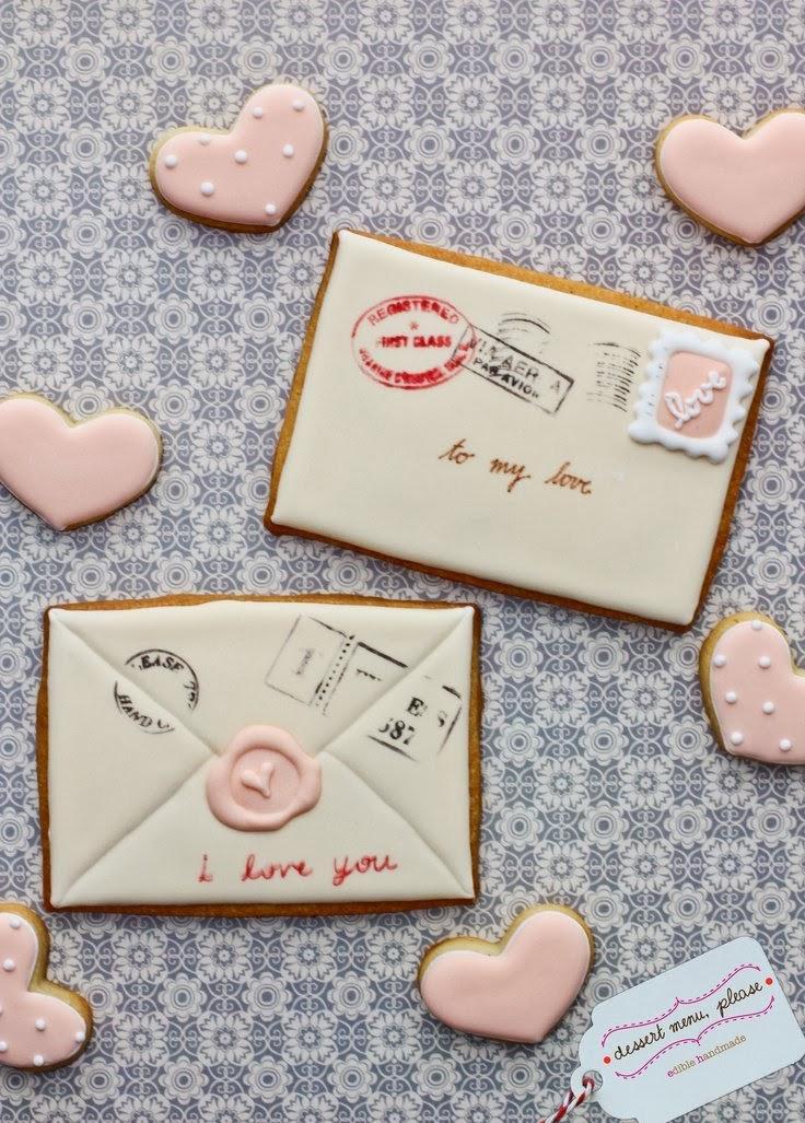 koperty walentynkowe inspiracje DIY cistka w kształcie kopert