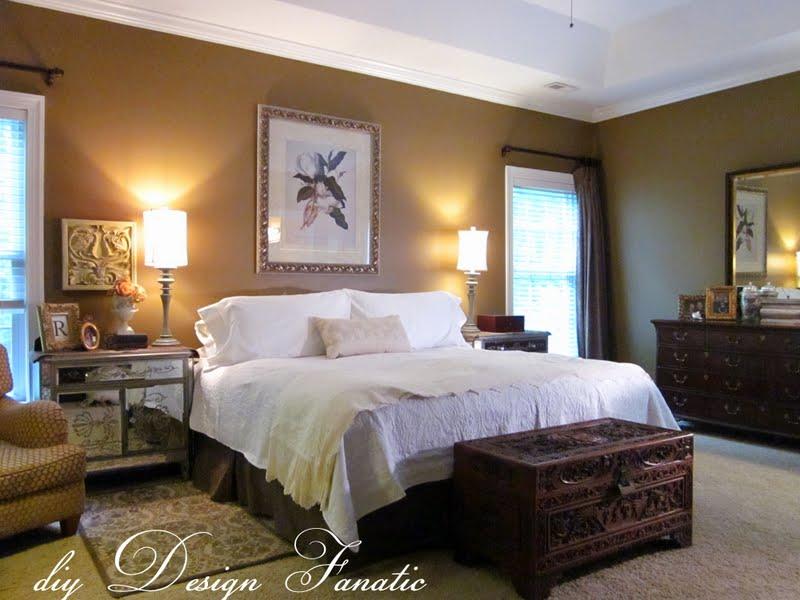diy Design Fanatic: Decorating A Master Bedroom On A Budget