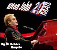 CD Elton John as 20 mais Românticas Faixas Nomeadas e Sem Vinhetas By DJ Helder Angelo