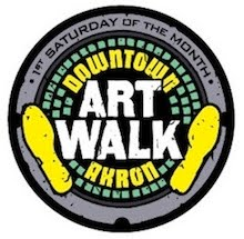 Downtown Akron's Artwalk, 1st Saturday of the month