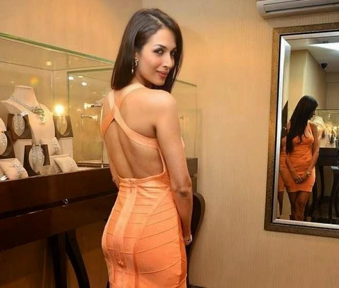 Malaika Arora Khan Hot Backless Photos
