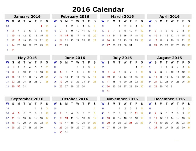 2016 Calendar with Hindu Holidays, 2016 Monthly Blank calendar, Hindu ...