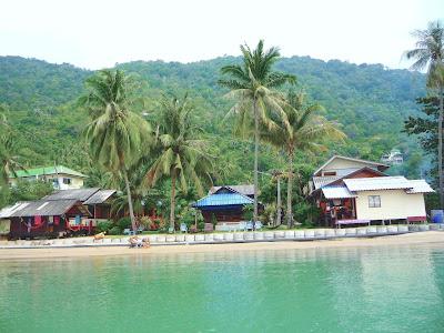 beach bunglaows and jungle koh phangan