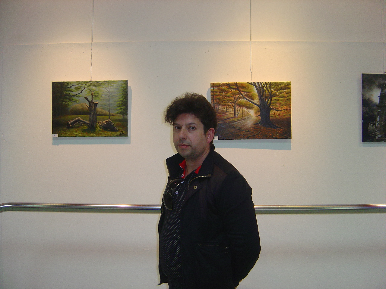 Exposición Lino Martínez. Abril 2016