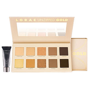 Allison Cohen, Never Say Die Beauty, beauty blogger, First Look Fridays, interview series, LORAC Unzipped Gold Makeup Palette, eyeshadow