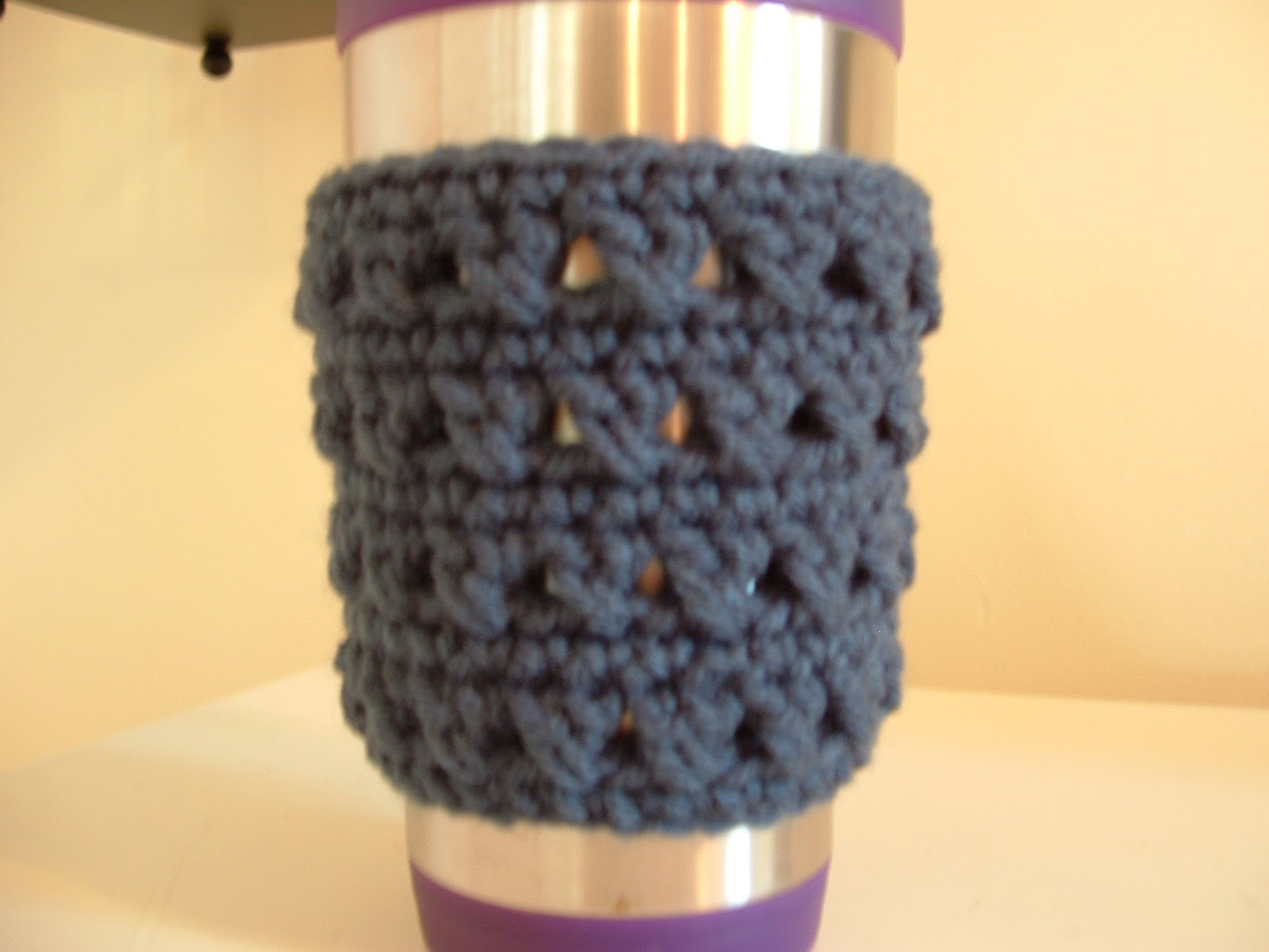 Would You Like Yarn With That?: X Stitch Coffee Cup Cozy-Free Pattern!
