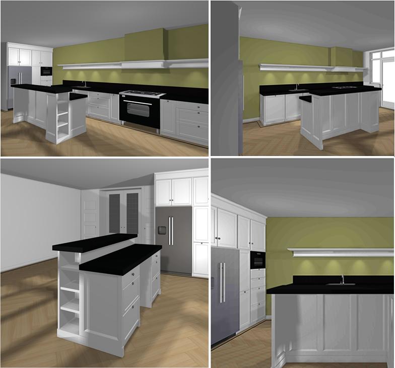 Houten keuken ontwerpproces van oock maatwerk keuken deel 1 - Keuken originele keuken ...