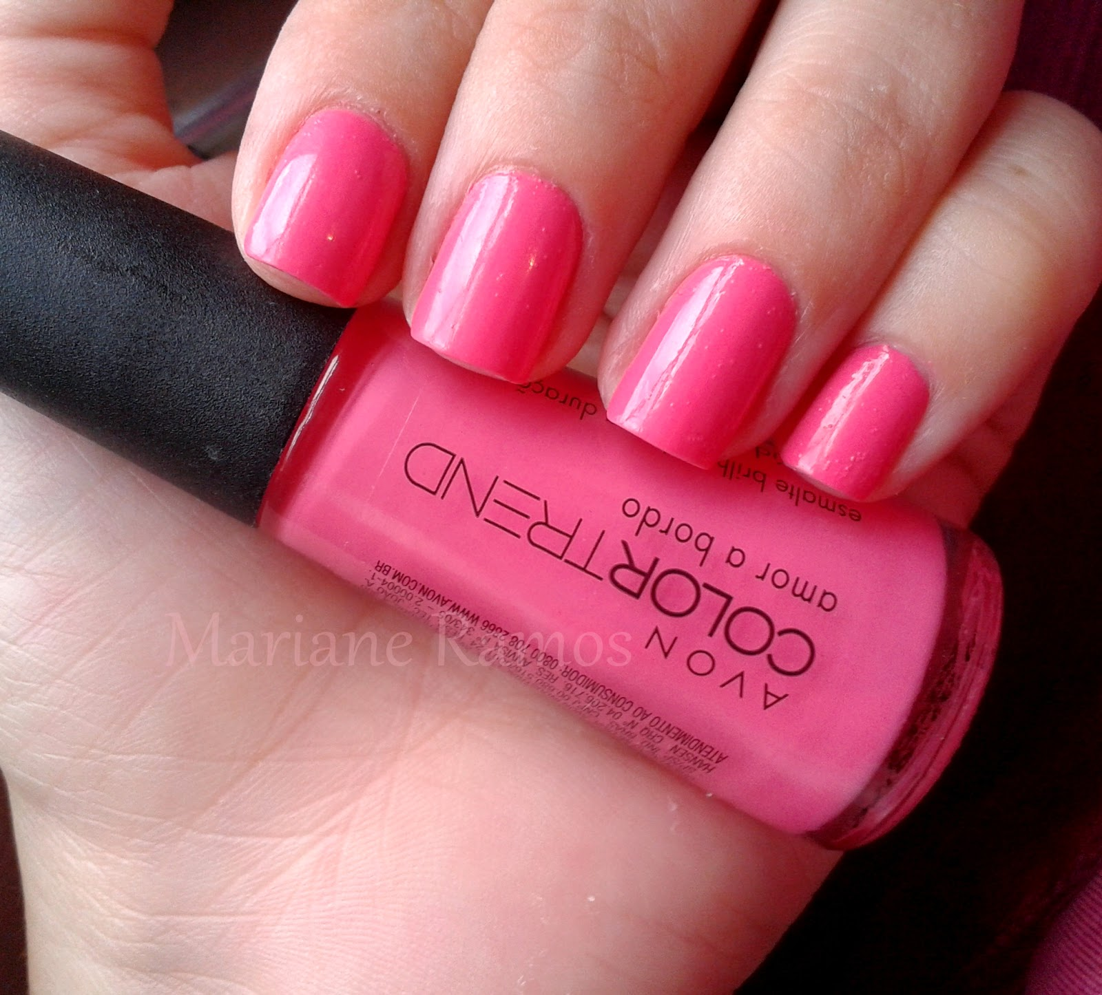esmalte amor a bordo color trend