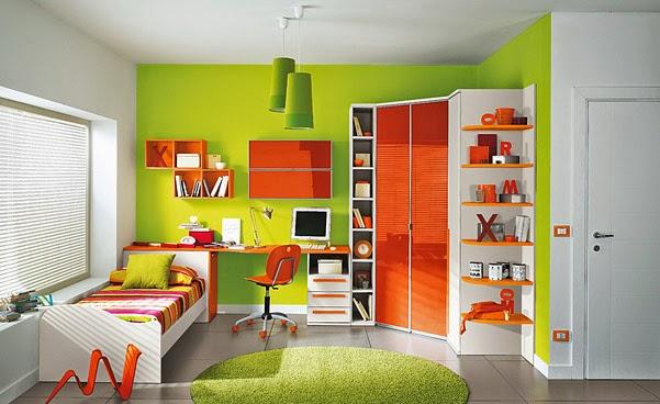desain rumah tebaru kamar tidur anak perempuan minimalis