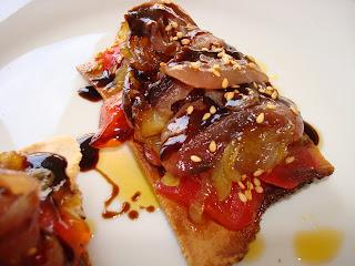 pintxo aperitivo pescado marinado bonito