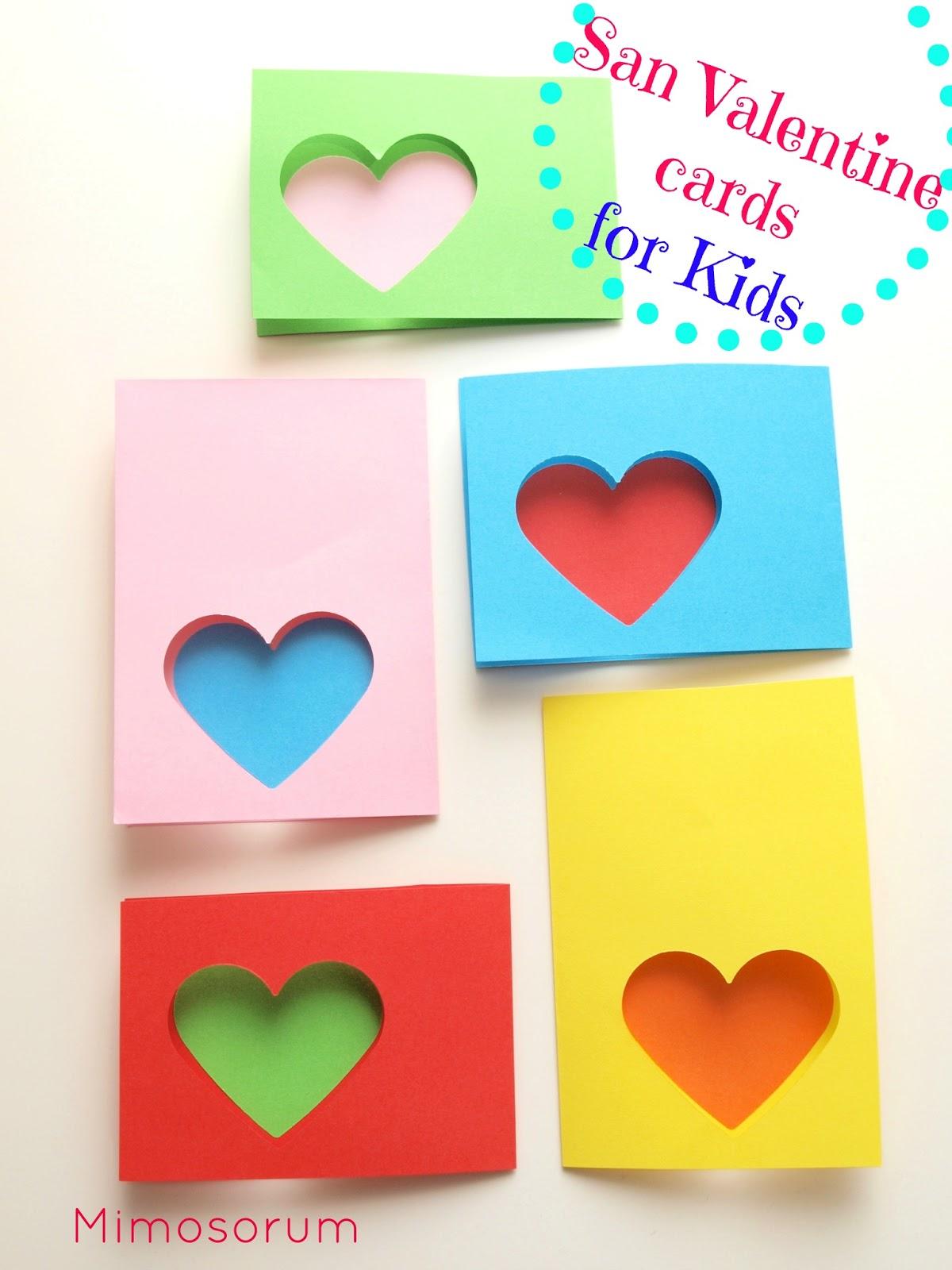 Tarjeta fácil y rápida San Valentín