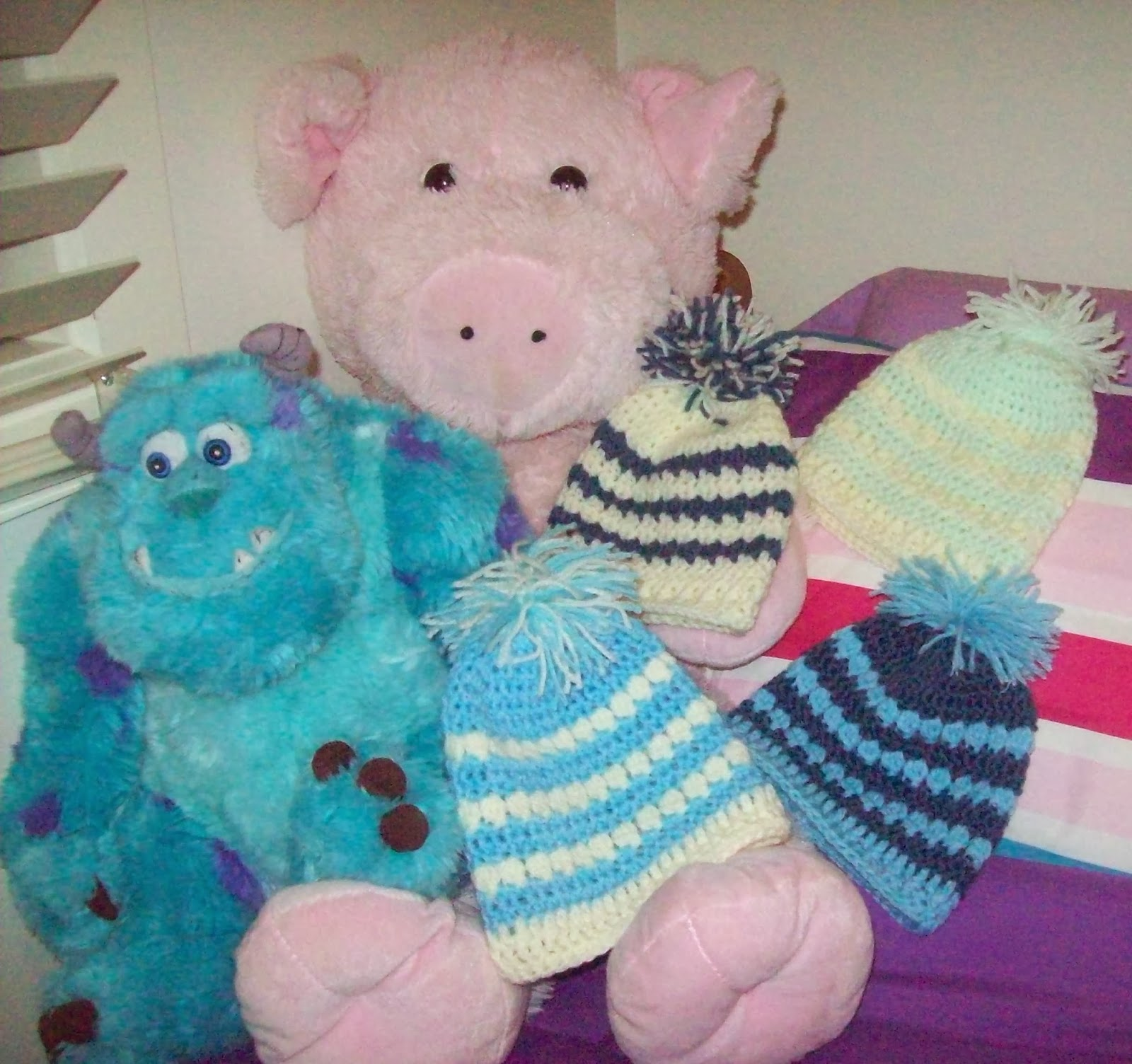 Free Crochet Pattern For Cluster Beanie : Cats-Rockin-Crochet, Free Crochet and Knit Patterns ...